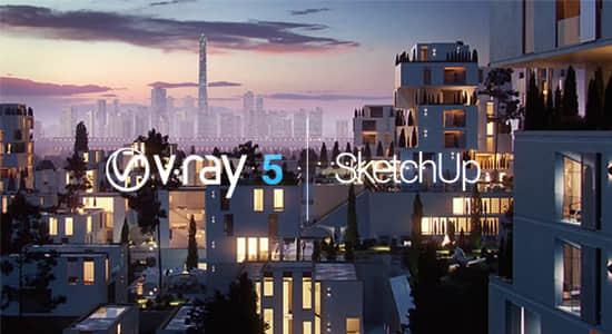 Sketchup Vray高级渲染器插件 V-Ray 5.10.05 Win版