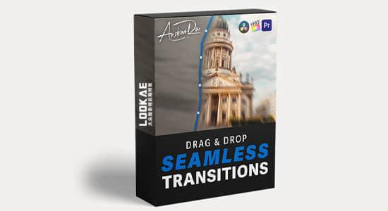 4K视频素材-20个前景物体遮挡无缝转场过渡效果 有透明通道 Seamless Transition Pack
