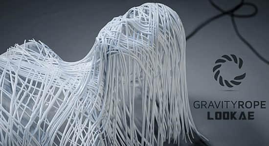 Blender插件-重力绳索特效插件 Gravity Rope v0.9a