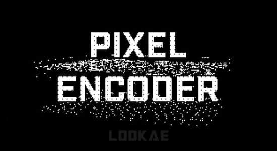 中文汉化AE/PR插件-视觉像素化动画特效 Pixel Encoder v1.4.1 Mac/Win + 使用教程