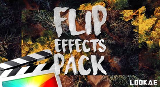 FCPX插件-31个画面翻转画中画效果 Ryan Nangle – Flip Effects Pack