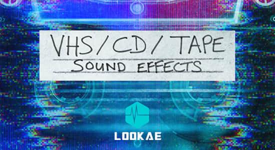 复古怀旧CD磁带播放机快进倒带按键VHS音效 Triune Digital VHS CD TAPE SFX