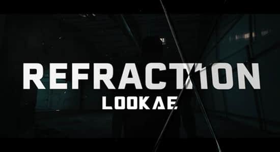 18种玻璃破碎裂痕纹理静帧素材 Refraction – 4K