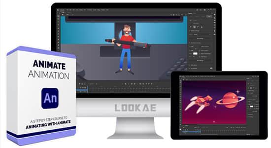 使用AN软件制作二维卡通动画视频教程 Bloop Animation – Animate Animation