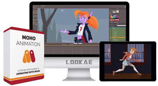 使用Moho软件创建专业2D动画视频教程 Bloop Animation – Moho Animation