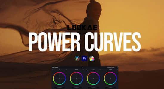 达芬奇/PR/FCPX高质量视频调色预设 Colorist Factory – Power Curves Win/Mac