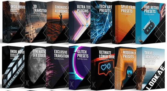 3000种音效PR预设视频素材LUTS调色预设合集包