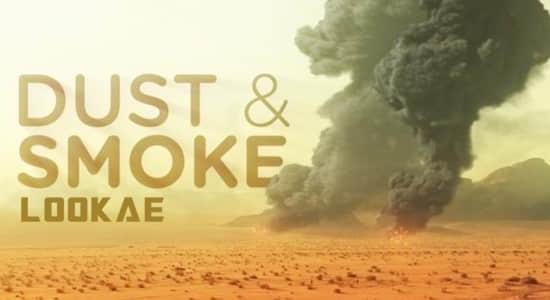 [福利] 339个烟雾粉尘爆炸冲击波特效合成4K视频素材 有透明通道 Production Crate – Dust Smoke