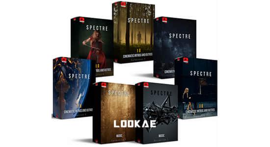 7套精品广告专题宣传电影预告片背景音乐 Spectre Full Collection