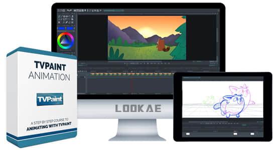 使用TVPaint软件制作手绘2D动画视频教程 Bloop Animation – TVPaint Animation