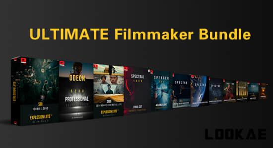14套上万种音效音乐转场LUT调色视频素材终极包 ULTIMATE Filmmaker Bundle