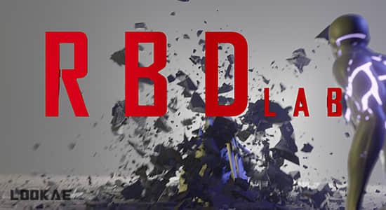 Blender插件-物理动力学破碎插件 BlenderMarket – RBDLab
