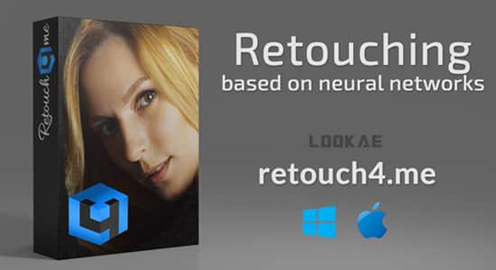 PS插件-人像处理美颜磨皮瑕疵修复套装Retouch4me – Skin Tone/Eye Vessels/Heal/Dodge & Burn/Portrait Volumes