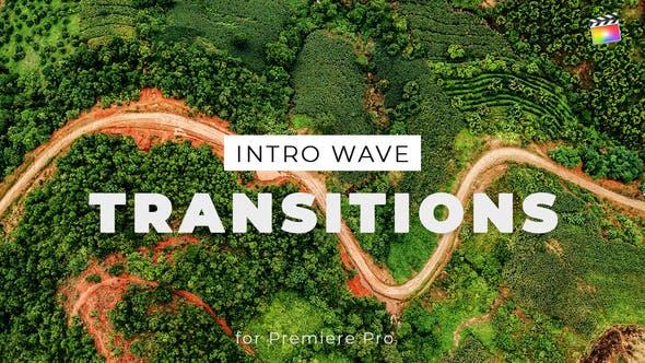 FCPX插件-10组波浪图形过渡转场动画 Intro Wave Transitions for Final Cut Pro X