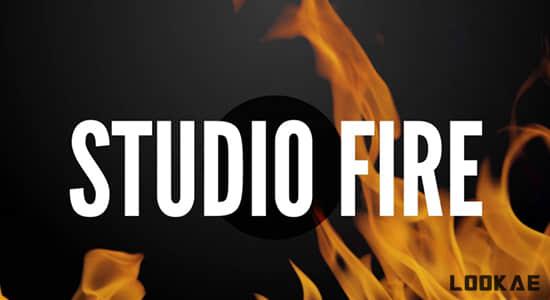 4K视频素材-203个真实火焰燃烧特效动画素材 RDT-Studio Fire